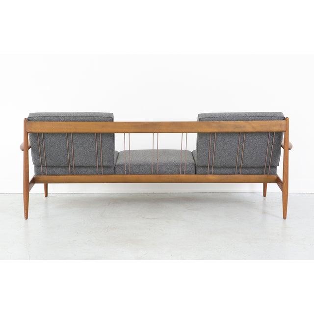 Grete Jalk for France + Daverkosen Teak Wood Sofa - Image 5 of 11
