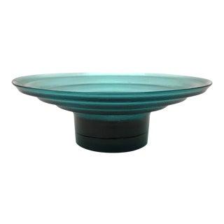 Post Modern Blue Stepped Bowl