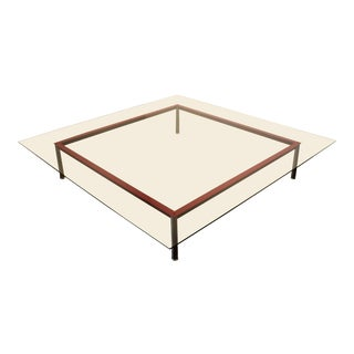 Very Large Lc-10p Low Coffee Table by Le Corbusier for Cassina