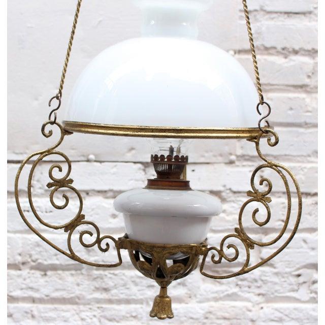 Campaign Antique Italian Lantern For Sale - Image 3 of 5