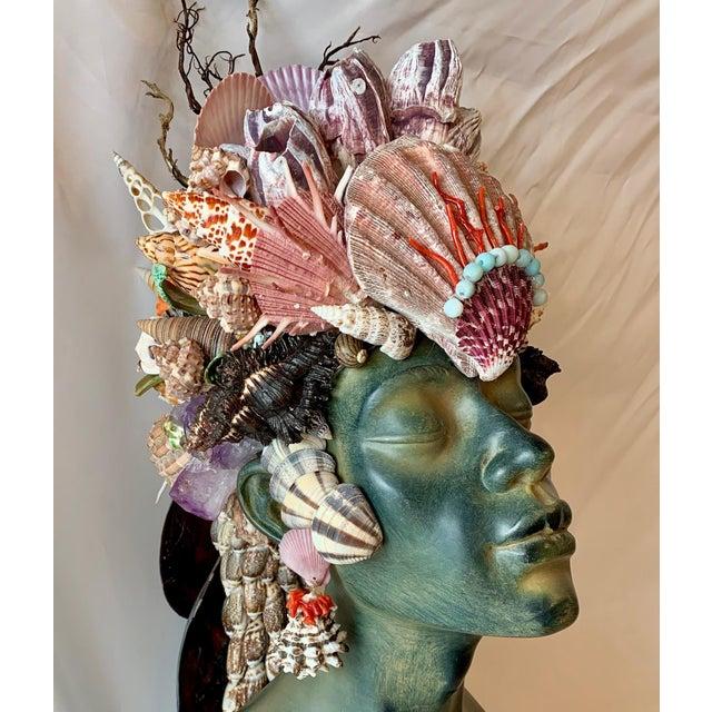 2020s Memsaab Ungawa Ll African Princess Sculpture For Sale - Image 5 of 8