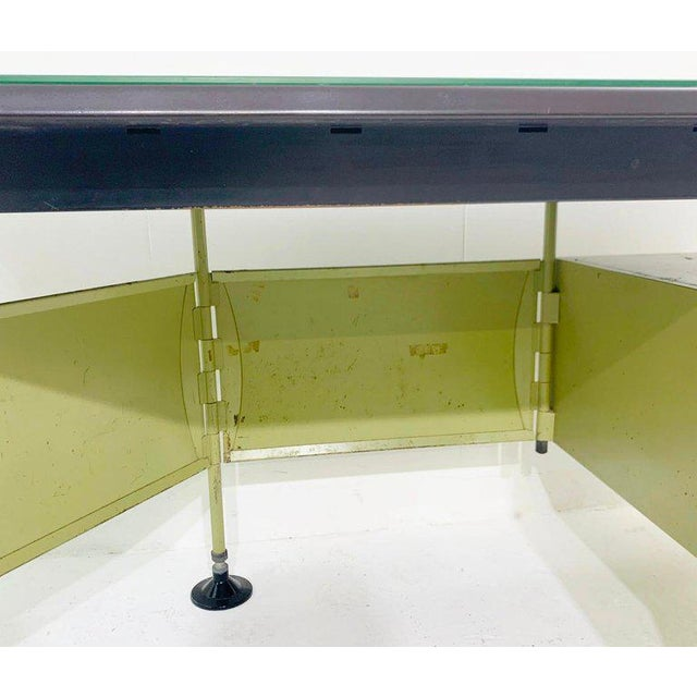 Studio BBPR Italian Modernist Spazio Desk by Studio Bbpr for Olivetti - 1959 For Sale - Image 4 of 9