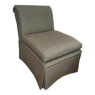 Slipper Chair by Baker Furniture For Sale