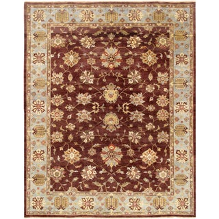 """Pasargad Sultanabad Collection Rug - 4' x 5'9"""" For Sale"""