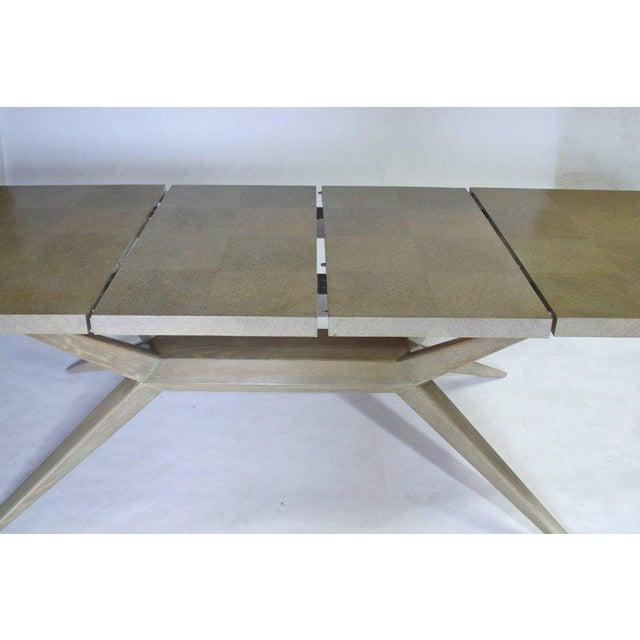 1950s Harold Schwartz for Romweber M-748 Dining Table For Sale - Image 5 of 9