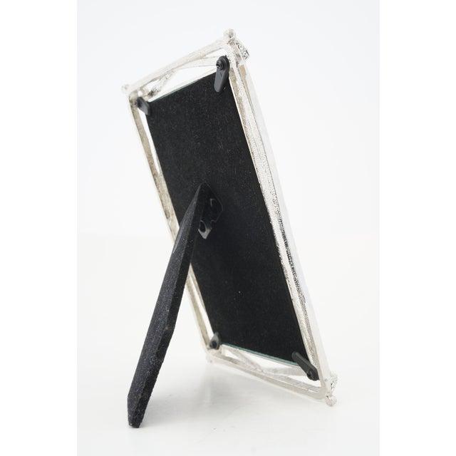 Vintage Photo Frame -- Bejeweled Encrusted for Tabletop Display For Sale - Image 4 of 9