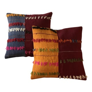 Vintage Sawan Kilim Pillows - Set of 2