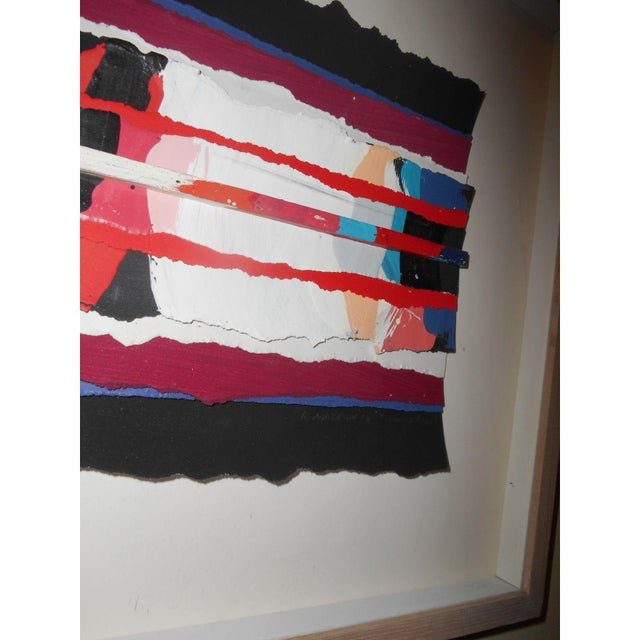 Abstract Art Painting Signed - Image 4 of 6