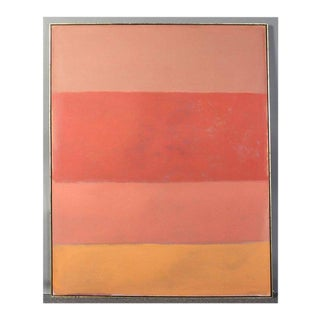 Large Abstract Painting in the Style of Rothko For Sale
