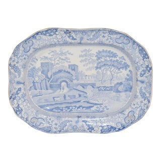 19th C Copeland Spode Platter For Sale