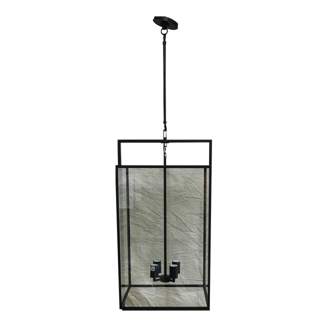 Halle Medium Lantern by Ian K. Fowler for Visual Comfort For Sale