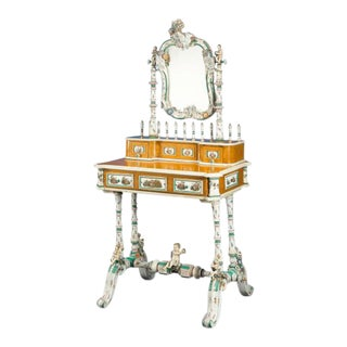 Meissen Porcelain Dressing Table
