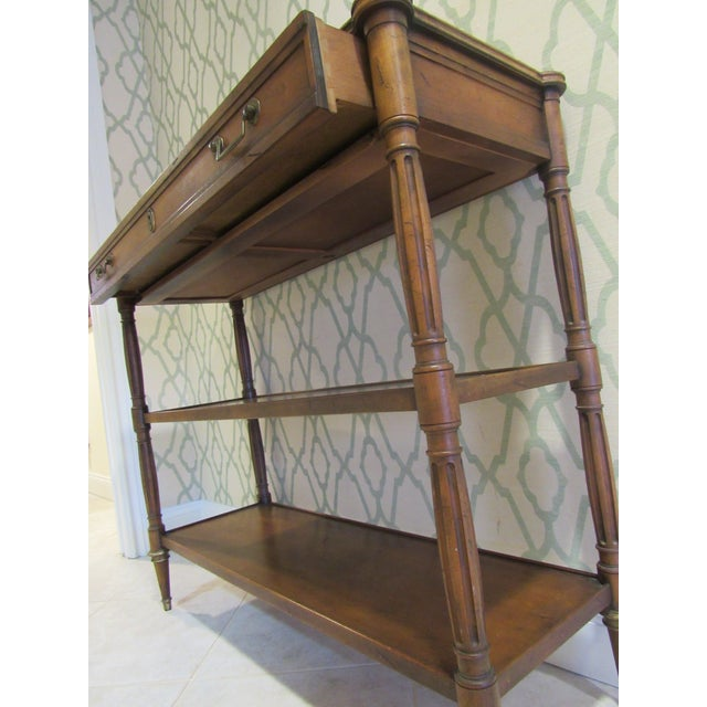 Console Table by Baker Furniture For Sale In West Palm - Image 6 of 11