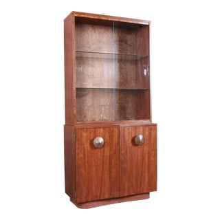Gilbert Rohde for Herman Miller Paldao Group Bar Cabinet Hutch, Newly Restored For Sale