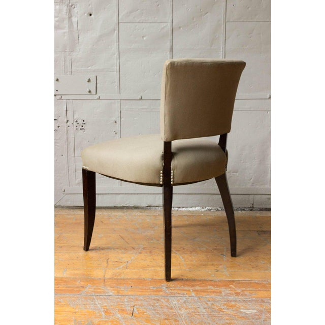 Art Deco Style Side Chair Frame - Image 10 of 11