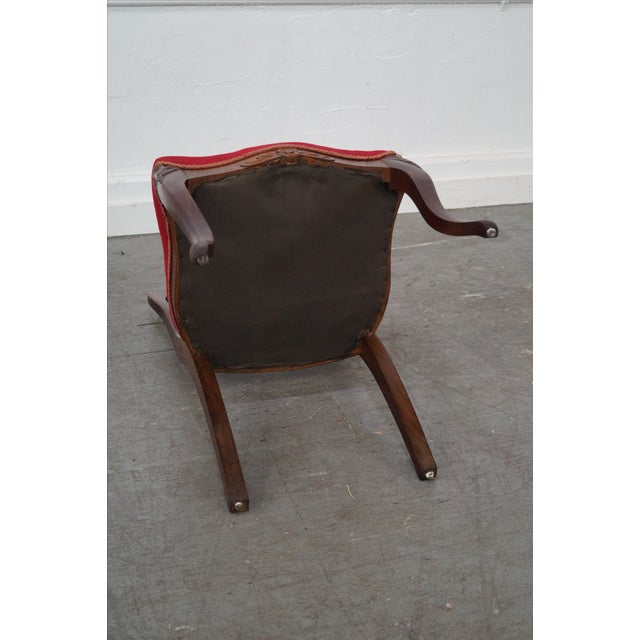 Antique Victorian Walnut Side Chair - Image 8 of 10