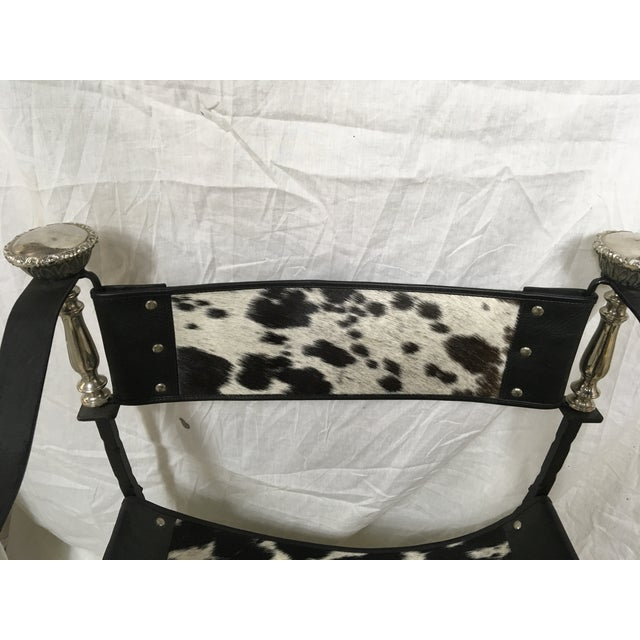Italian Campaign Style Chair - Image 5 of 6