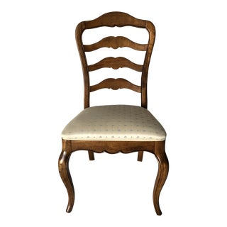 Ethan Allen Ladder-Back Dining Chair For Sale