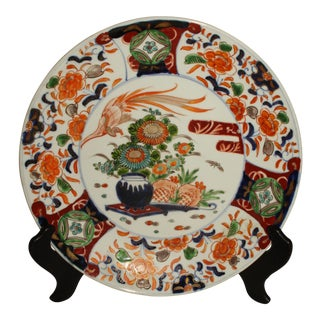Antique Imari Chop Plate For Sale