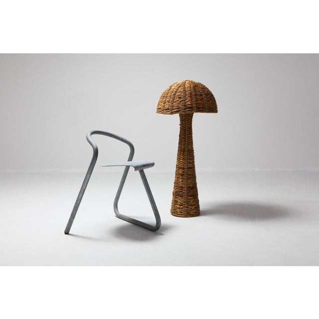 Gabriella Crespi Style Floor Lamp in True Tropicalist Style For Sale - Image 6 of 9