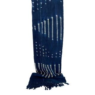 Old Indigo Bondoukou Cloth Textile I Coast For Sale