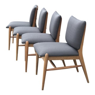 John Keal for Brown Saltman Dining Chairs - Set of 4 For Sale