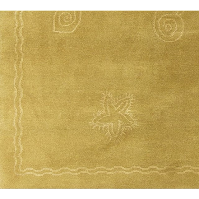 Nautical Hand-Knotted Wool Rug - 7′11″ × 10′1 - Image 4 of 4