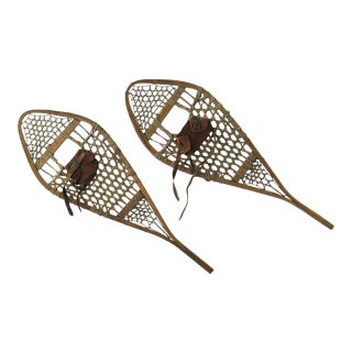 Authentic Canadian Snowshoes - A Pair For Sale