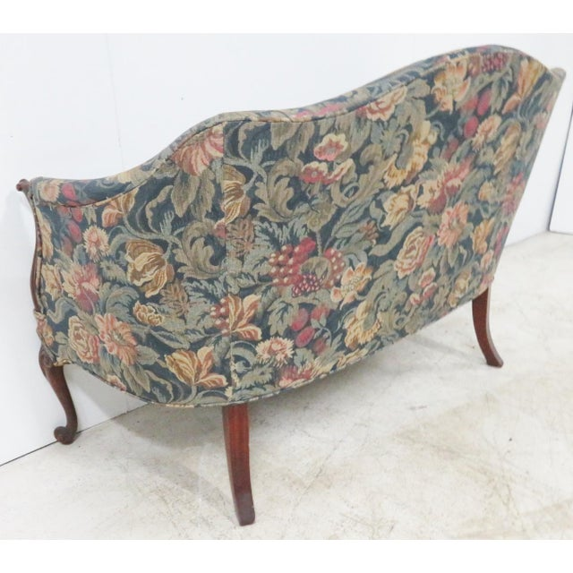 Blue Hickory Chair Company Louis XV Style Settee For Sale - Image 8 of 11