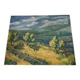 California Plein Air Landscape Painting For Sale