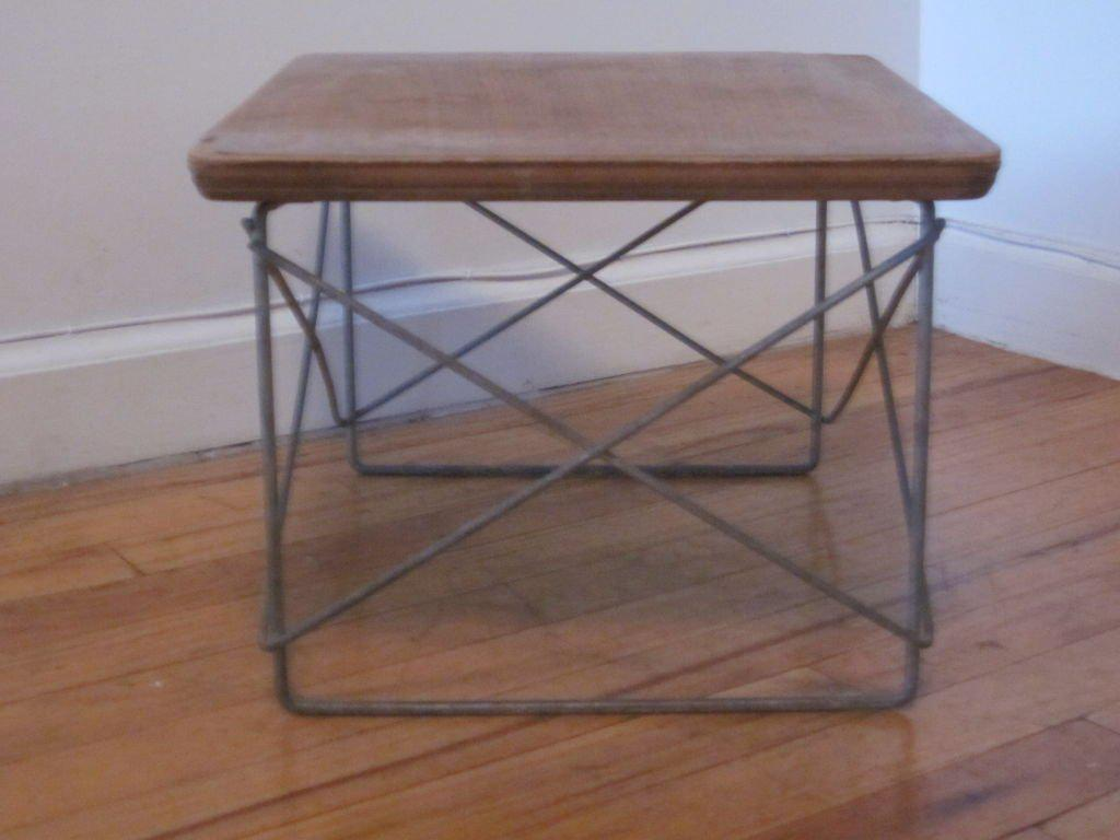 Mid Century Modern LTR Side Table By Charles And Ray Eames   Image 3 Of