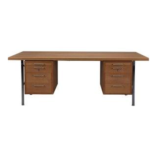 Model A164 Oak Desk by Hans Wegner for Johannes Hansen For Sale
