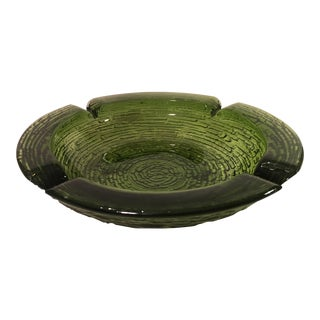 Mid-Century Green Soreno Ashtray