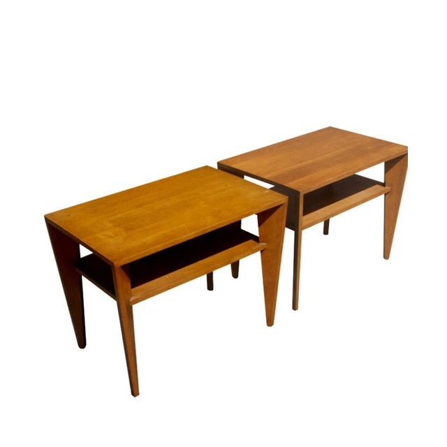 Russel Wright for Conant Ball Side Tables - Pair - Image 1 of 5