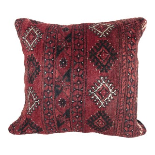 Sitting Wool Carpet Pillow Cover