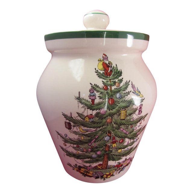 Spode Christmas Tree China Sale: Spode Christmas Tree Cookie Jar