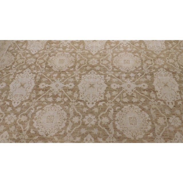 Agra Design Hand-Knotted Luxury Rug - 8′1″ × 9′11″ - Image 5 of 5