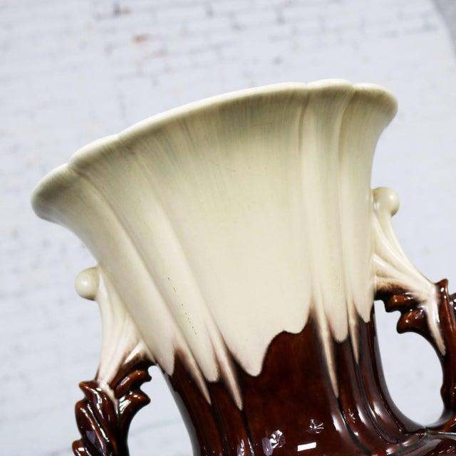 Ceramic S and G Keramik Monumental Classic Style German Ceramic Floor Vase For Sale - Image 7 of 11