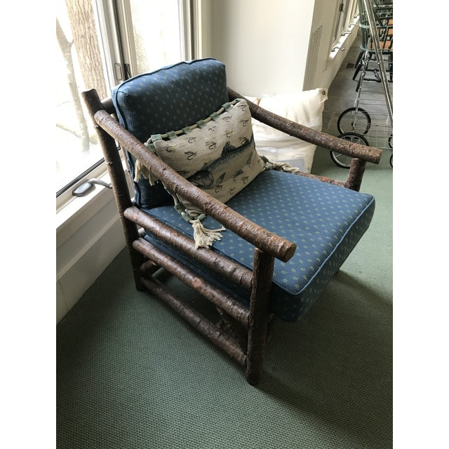 Rustic Rustic Club Chair by La Lune Collection For Sale - Image 3 of 6