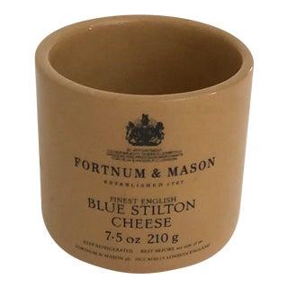 Vintage English Fortnum & Mason Cheese Crock