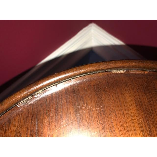 Henkel Harris Henkel Harris Solid Mahogany Tall Fern Plant Stand For Sale - Image 4 of 8