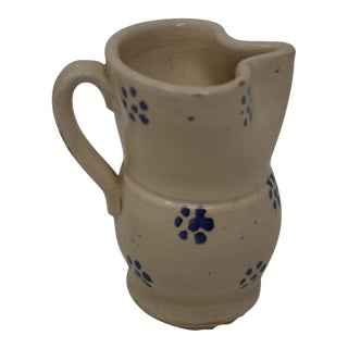 Vintage Puglia Apulia Italy Ceramic Pitcher For Sale