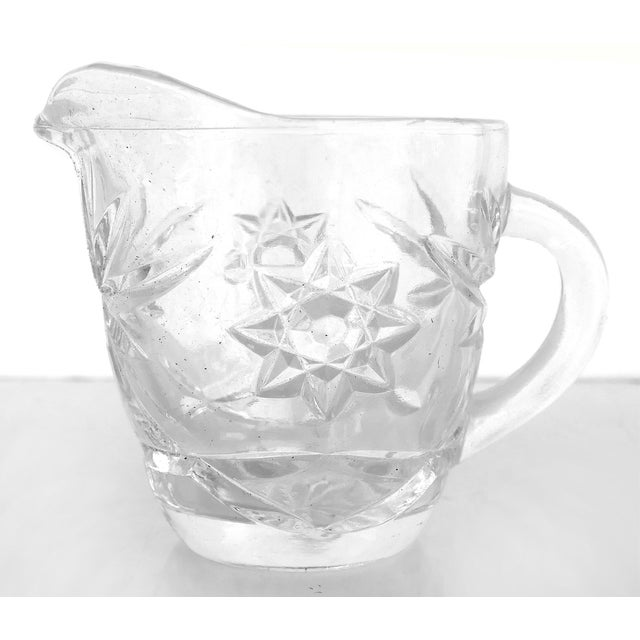 Anchor Hocking Prescut Early American Glass Serving Set-Set of 7 For Sale In Miami - Image 6 of 9
