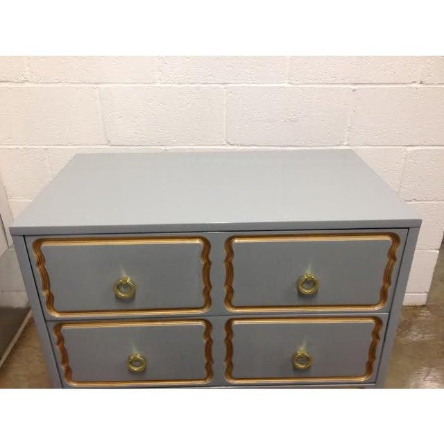1950s Dorothy Draper Style Chest of Drawers For Sale - Image 5 of 6