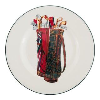Vintage Ralph Lauren Wedgwood Golf Plate