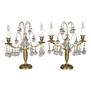 Early 20th Century French Girandoles - a Pair For Sale
