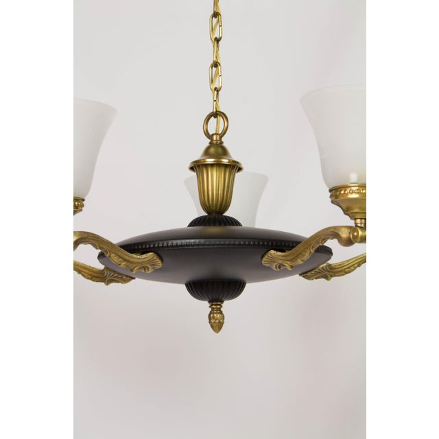 Black bronze finish adjustable chandelier image 6