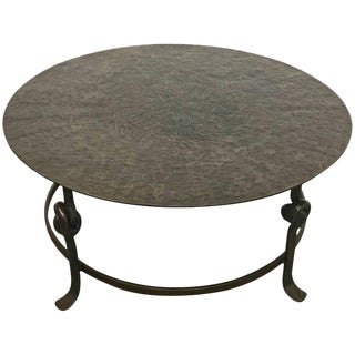 Modern Bronze Sculptural Coffee Table