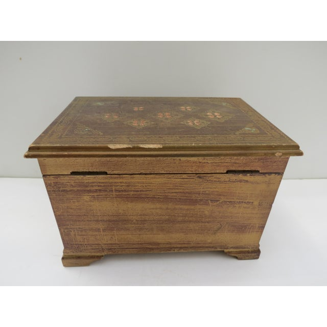 Florentine Gold Jewelry Box - Image 5 of 8