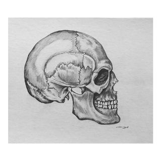 """Side Skull"" Original Drawing"